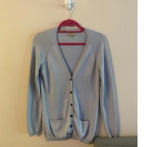 Burberry button down sweater cardigan